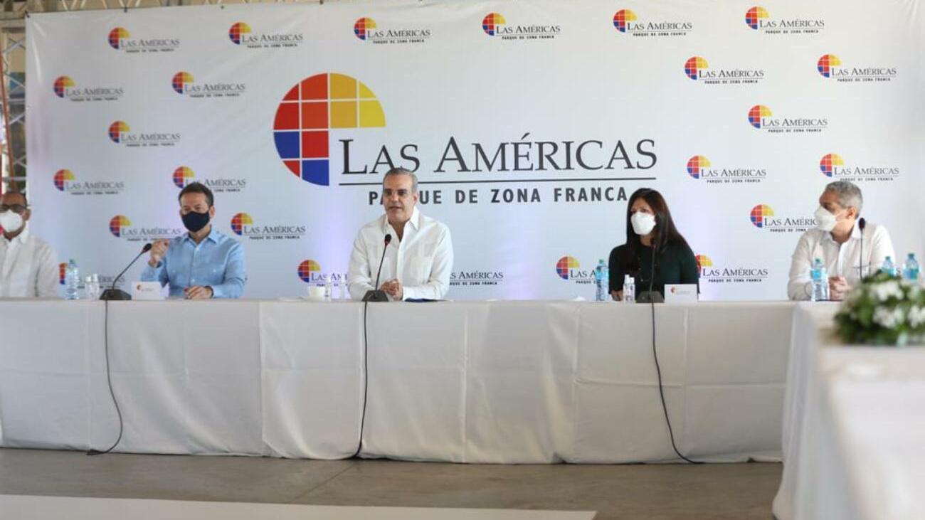 Presidente Luis Abinader respalda proyectos de expansión de la Zona Franca  Las Américas   Presidencia de la República Dominicana