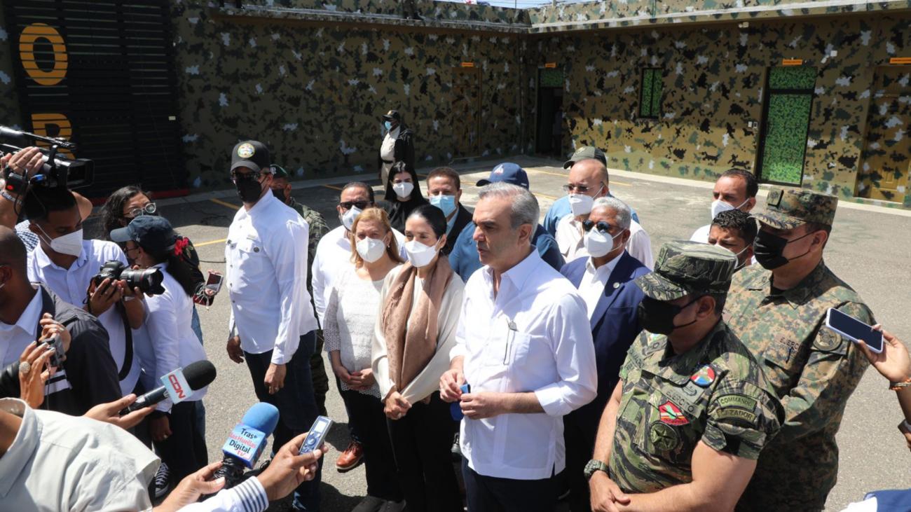 Presidente Abinader dice frontera está totalmente asegurada